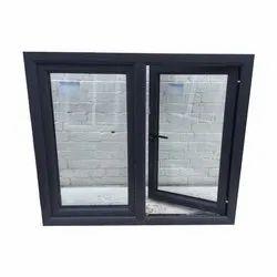 Swing Black UPVC Hinged Windows