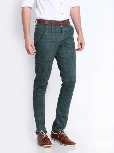 769a0fceecb Casual Mens Checked Trouser