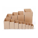 Brown Rectangular And Square Packaging Cartons