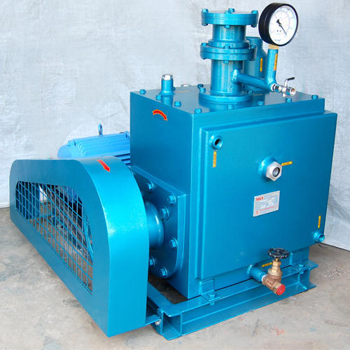 Saga Cast Iron Oil Sealed Rotary Vacuum Pumps, 7.5 To 10 Hp