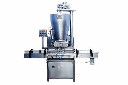 Bhavani Chyawanprash Filling Machine, Capacity: 40 - 60 Jar Per Minute, 5 Kw