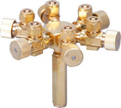 Six Ways Diverter Valve