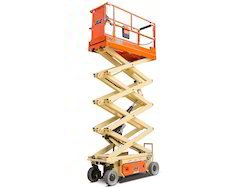 Scissor Lift On Hire, Application/Usage: Industrial