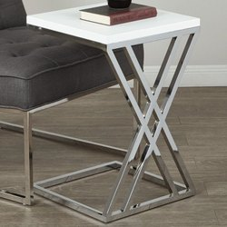 Eazy Fab Wooden SS Side Table, for Home, Number Of Drawer: 3