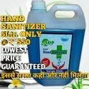 Hand Sanitizer 5litre Only 550 With 72% Isopropyl Alcohol