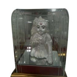 Laddu Gopal Silver Statue, For Worship and Gift Purpose