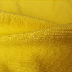 Yellow GOTS Certified Organic Cotton Fabric