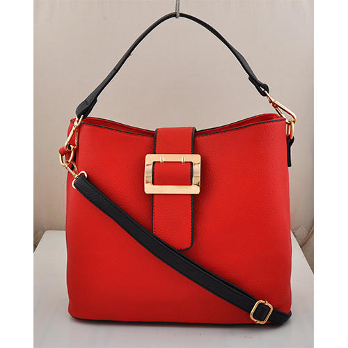 Synthetic Leather Red Las Hanging Bag