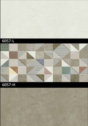 6057(L, H) Hexa Ceramic Tiles Matt Series