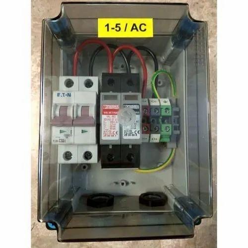 1-5 kW Single Phase Solar AC Distribution Box
