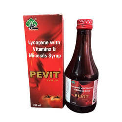 Lycopene With Vitamin And Minerals Syrup