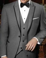Grey Mens 3 Piece Suit