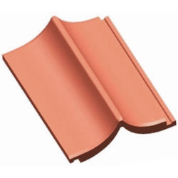 Profile 10 To 12 Ridge Clay Roofing Tile, Thickness Of Tile: 8 To 10bar