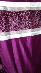 Printed Designer Silk Curtain