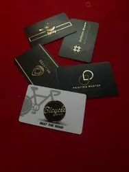 UV digital Print Premium Gold Foil Business Card, For Personal And Business