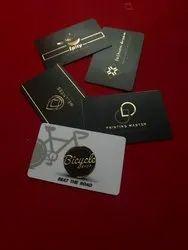紫外线数字印刷品优质金箔名片,供个人和业务