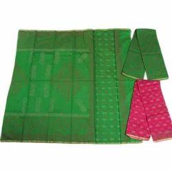 Casual Wear Ladies Maheshwari Block Print Suit