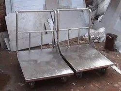 Platform trolley heavy duty Stainless steel