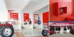 Mahindra Tractor Retail Branding Identity Design Services