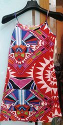 Regular Wear Slim Fit Girls Summer Dress, Packaging Type: Bag