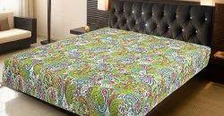 Paisley Boho Indian Handmade Queen Kantha Bedspread