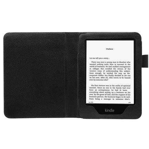 Amazon Kindle Paperwhite E Reader 6 inch Folio Leather Case Cover