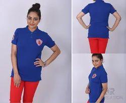 Women Blue T-Shirt