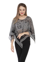 Ladies Printed Poncho