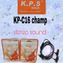 KPS C-16 Champ Handsfree Headphone