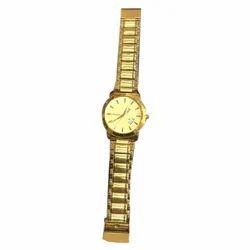 Golden Mens Watch