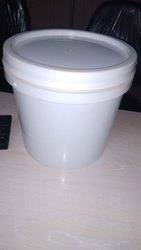 White Plastic 15 Ltr Curd Buckets