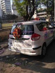6 Seater Ertiga Car for Marriage