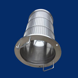 Self Cleaning Rotary Juice Strainer