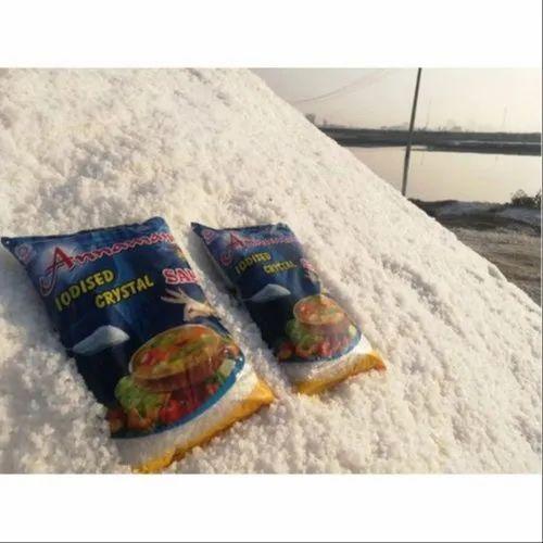 1 Kg Annamani Iodized Crystal Salt