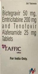 Bcitegrevir Emtricitabine Tenofovir Alafenamide Taffic Tablet