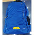 Blue Nylon Aristocrat Grid Backpack