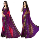 Designer Hand Made Bandhej/Bandhani Jacquard Silk Saree