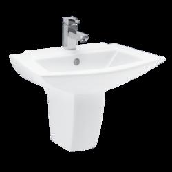Half Pedestal Washbasin