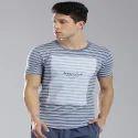 Masculino Latino Small & Medium Mens Fashion Stripes T Shirt