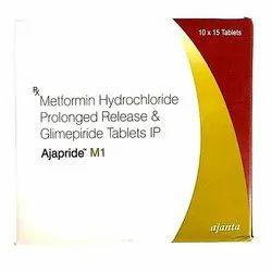 Metformin Hydrochloride &  Glimipride Antidiabetic Tablet for PCD Pharma Franchise