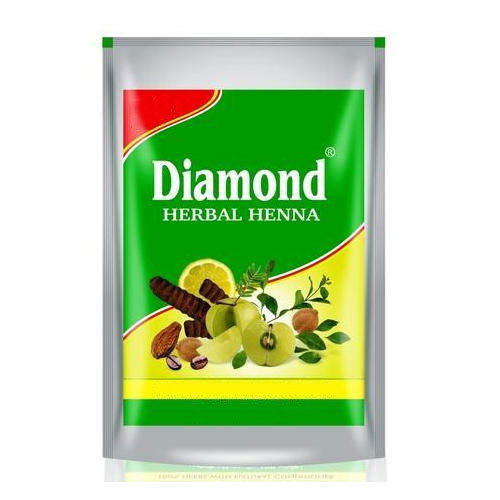 Diamond Herbal Henna Mehandi for Personal, Packaging Type: Packet