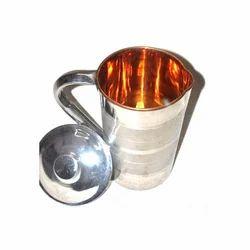 Steel Copper Water Jug