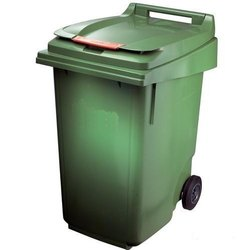 120L Plastic Wheeled Recycling Bin Dustbin