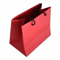 Plain Handled Paper Shopping Bag, Capacity: 5kg