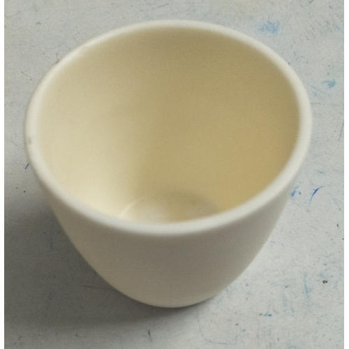 S A Instruments 50 ml Alumina Crucible, for Chemical Laboratory