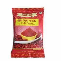 50Gm Arya Red Chilli Powder, Packets