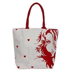 Ladies Shopping Jute Bag