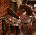 Vintage Leather Horse Saddle
