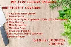 Cook Service, Cook Job Work in India
