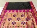 Rajashree Wedding Gadwal Silk Sarees, 5.2 m (separate blouse piece)
